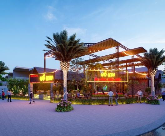 Thiết kế nhà hàng Hồ Koi đường Thăng Long - Đà Nẵng