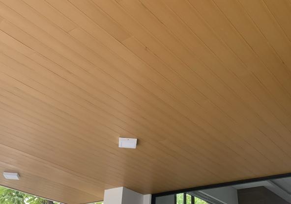 Thi công trần gỗ nhựa Đà Nẵng giá rẻ, chuyên nghiệp