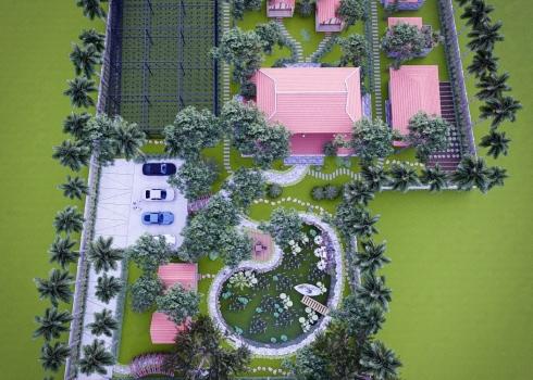 Xu hướng thiết kế cảnh quan sân vườn nhà nghĩ dưỡng tại Đà Nẵng